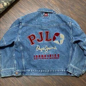 Vintage Pepe Jeans Jacket Medium